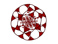 Tetrahedra from truncated 120-cell