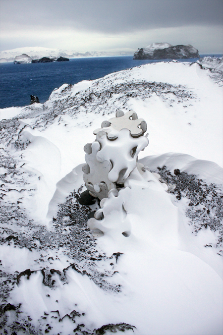 Sculpture in the Snow 1