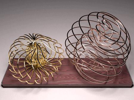 3d cog spirographs